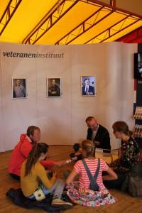 Bevrijdingsfestival 2014 ontmoeting met veteranen (54)